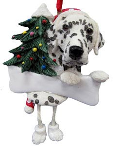 Dalmatian Christmas Tree Ornament - Personalize