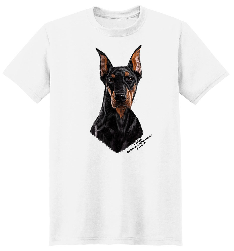 Doberman Pinscher T Shirt - Proud Parent