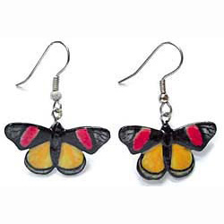 Painted Beauty Butterfly Earrings True to Life