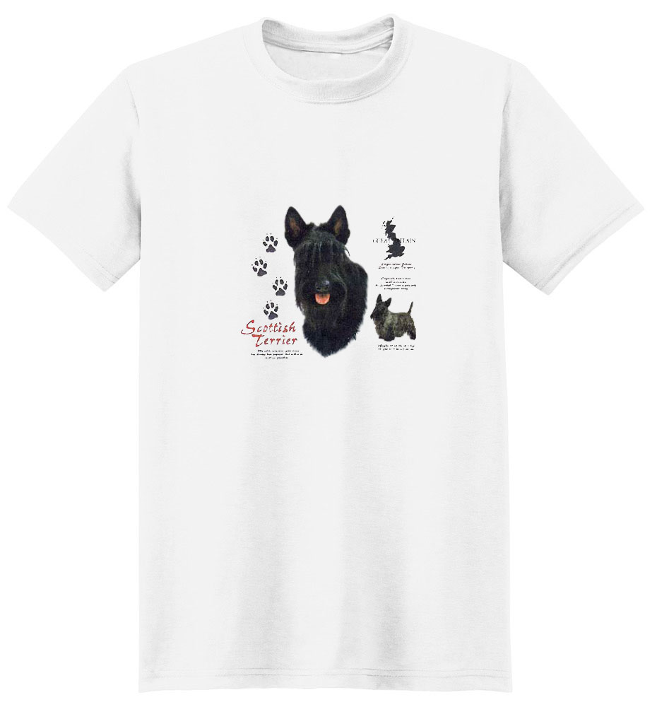 Scottish Terrier T-Shirt - History Collection