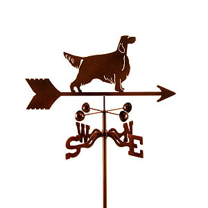 English Setter Weathervane