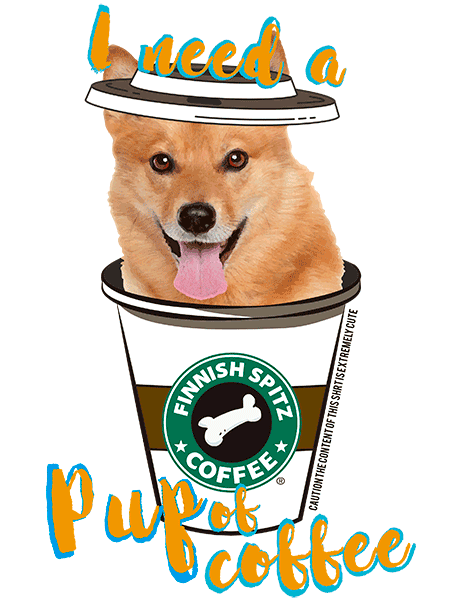 Finnish Spitz T Shirt - Coffee Mug