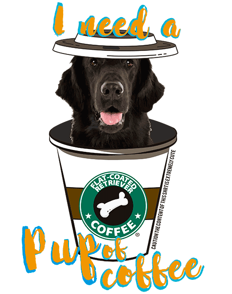 Flat Coated Retriever T Shirt - Coffee Mug