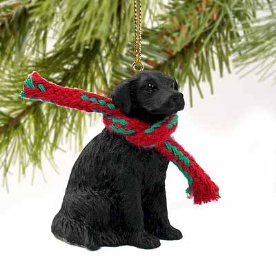 Flat-Coated Retriever Tiny One Christmas Ornament