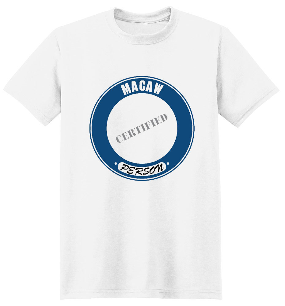 Macaw T-Shirt - Certified Person
