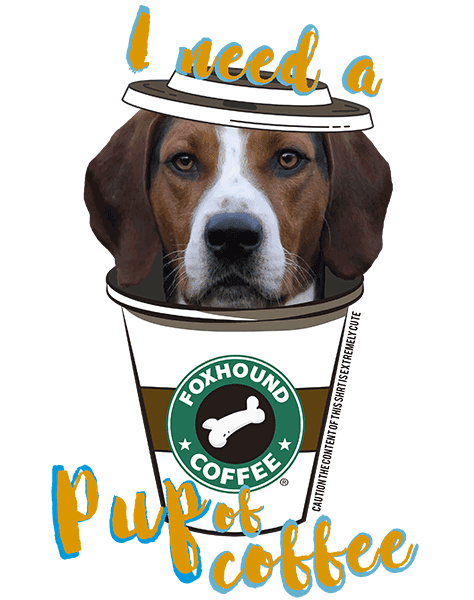 Foxhound T Shirt - Coffee Mug