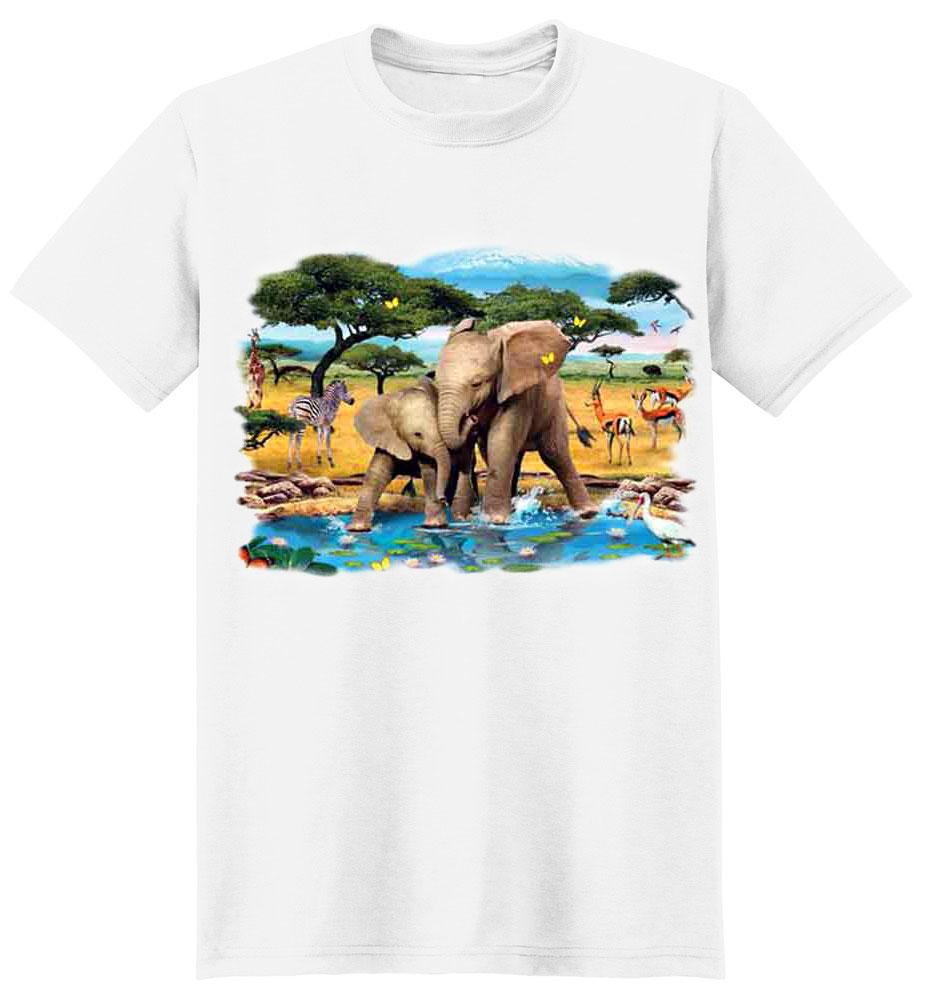 Elephant T-Shirt - Playful