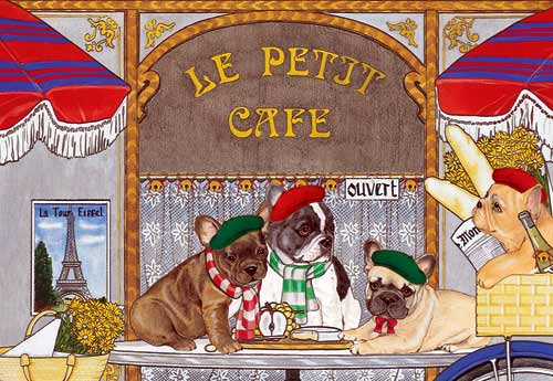 French Bulldog Christmas Cards