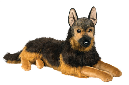 German Shepherd Plush Stuffed Animal