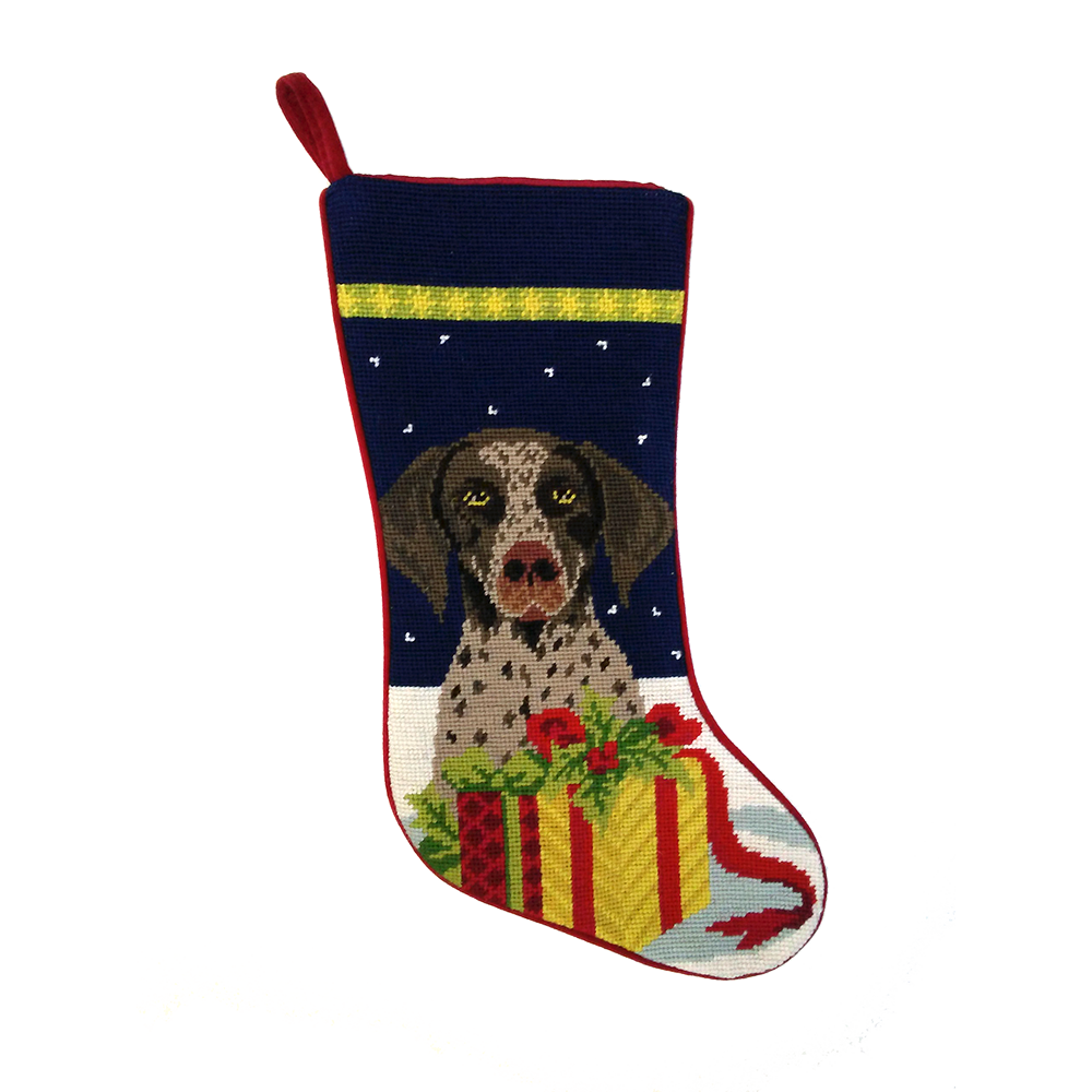 German Shorthaired Pointer Christmas Stocking