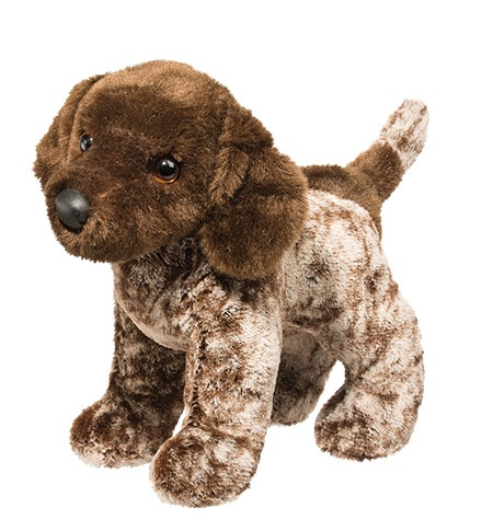 German Shorthaired Pointer Plush Stuffed Animal 10 Inch