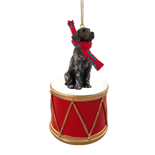 Little Drummer German Shorthaired Pointer Christmas Ornament