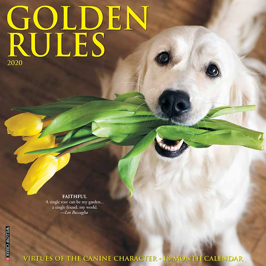 2020 Golden Rules Calendar