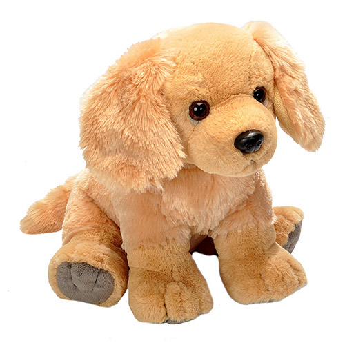 Golden Retriever Cuddlekins Plush Animal 12
