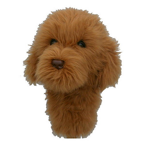Goldendoodle Golf Headcover