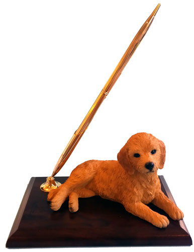 Goldendoodle Pen Holder