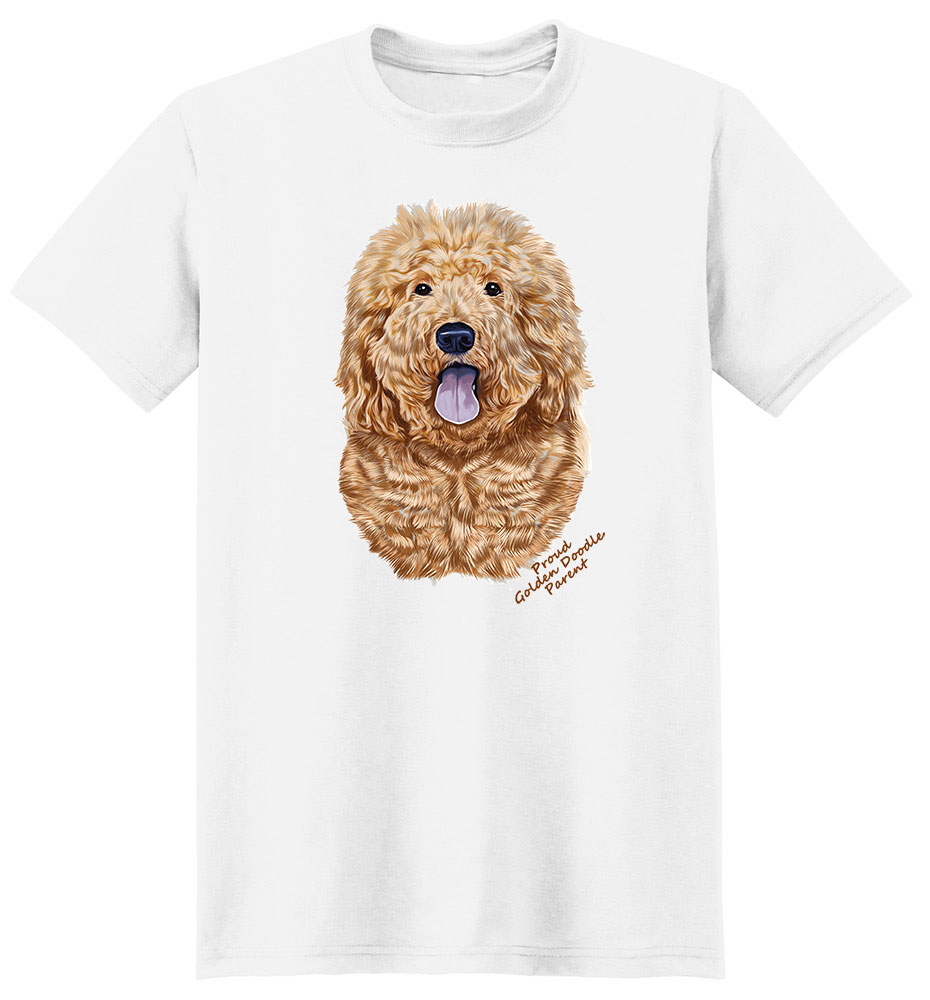 Goldendoodle T Shirt - Proud Parent