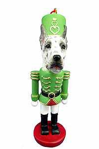 Great Dane Ornament Nutcracker (Harlequin)