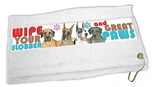 Great Dane Paw Wipe Towel