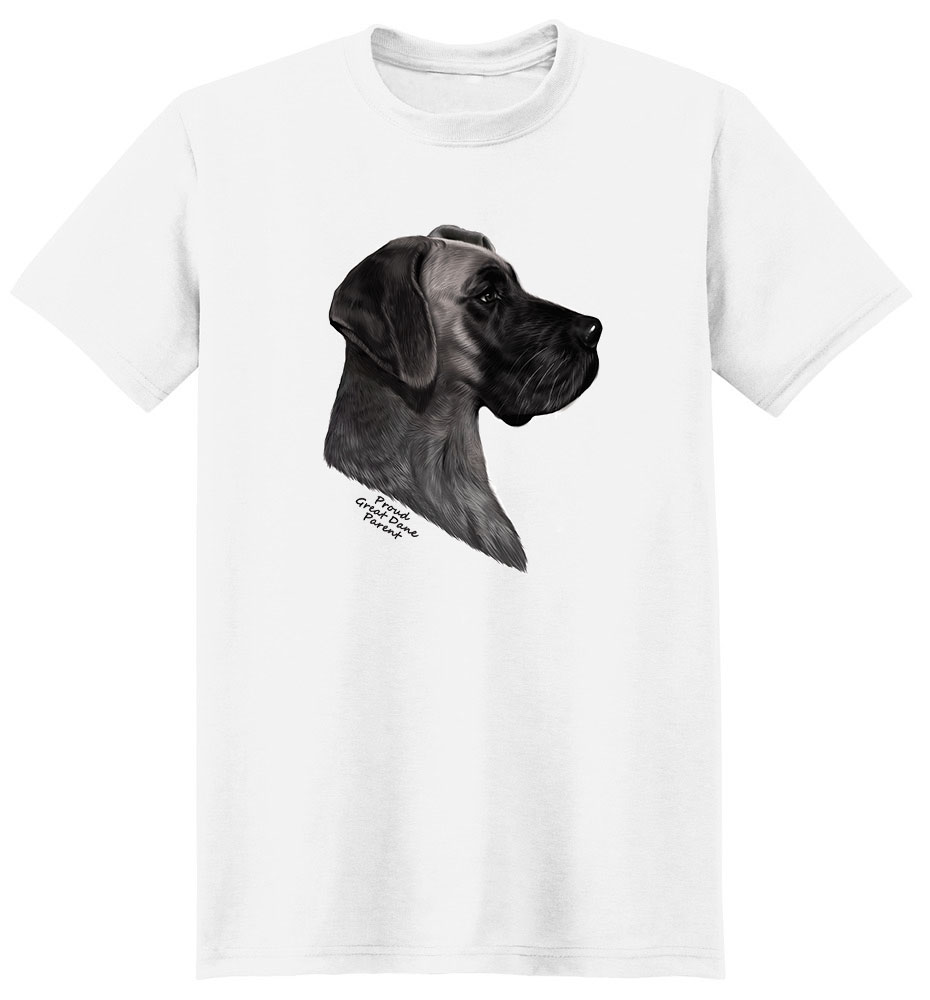 Great Dane T Shirt - Proud Parent