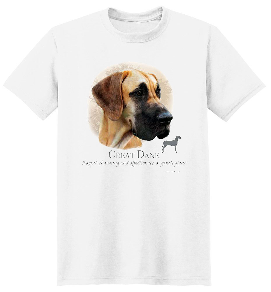 Great Dane T Shirt by Howard Robinson