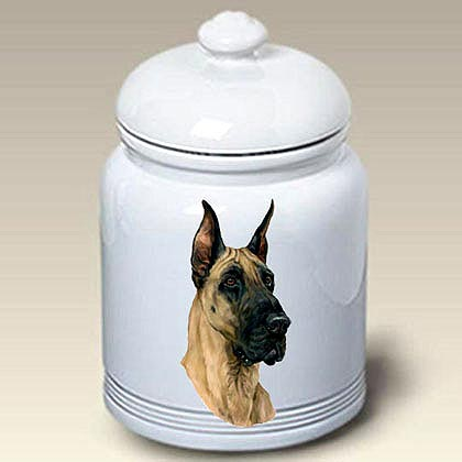 Great Dane Treat Jar