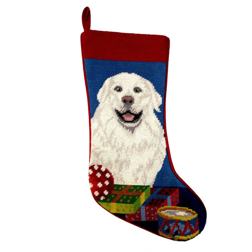 Great Pyrenees Christmas Stocking