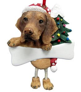 Vizsla Christmas Tree Ornament - Personalize
