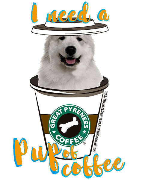 Great Pyrenees T Shirt - Coffee Mug