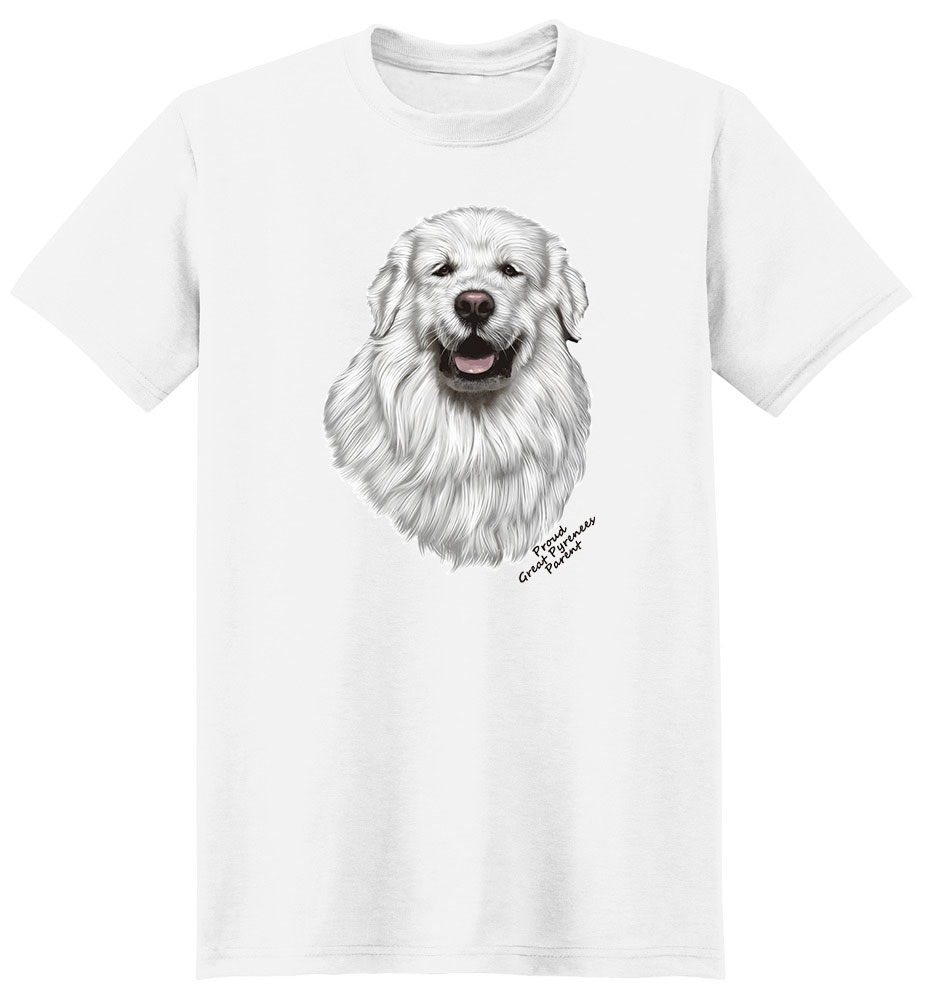 Great Pyrenees T Shirt - Proud Parent