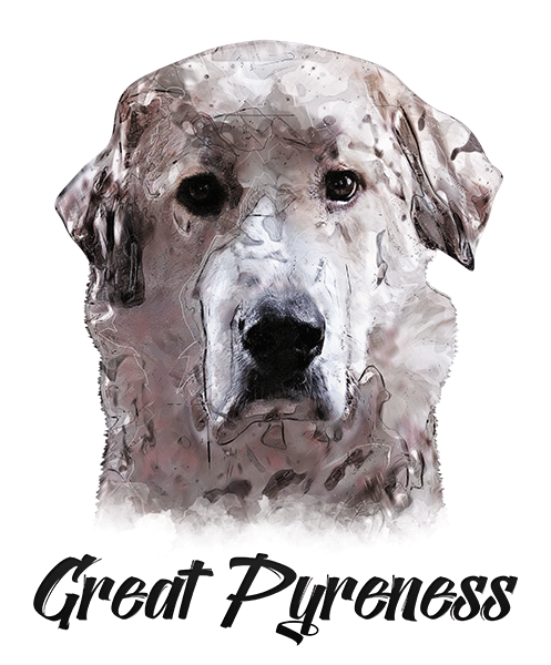 Great Pyrenees T-Shirt - Vivid Colors