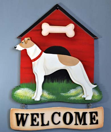 Greyhound Welcome Sign