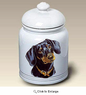 Dachshund Treat Jar