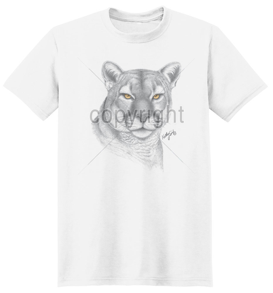Cougar T Shirt Golden Eyes