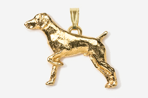 Pointer 24K Gold Plated Pendant