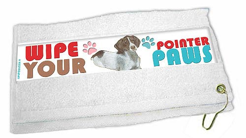 Pointer Paw Wipe Towel