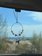 Vizsla Car Charm - Sun Catcher