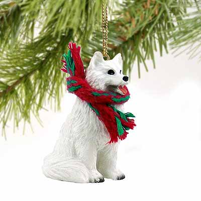 Samoyed Tiny One Christmas Ornament