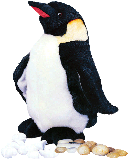 Waddles the Penguin 10� Stuffed Plush Animal