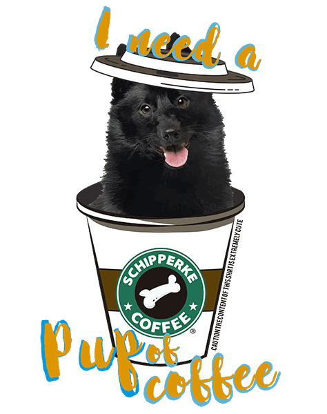 Schipperke T Shirt - Coffee Mug