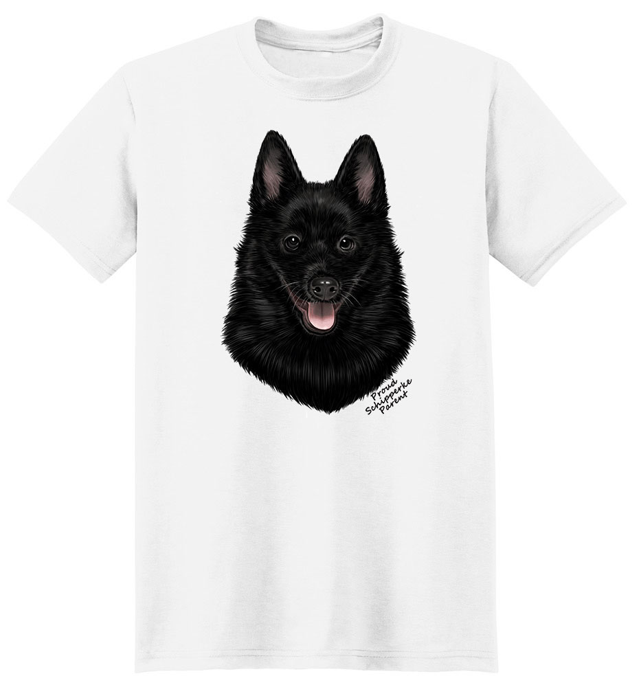 Schipperke T Shirt - Proud Parent