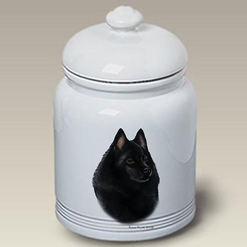 Schipperke Treat Jar
