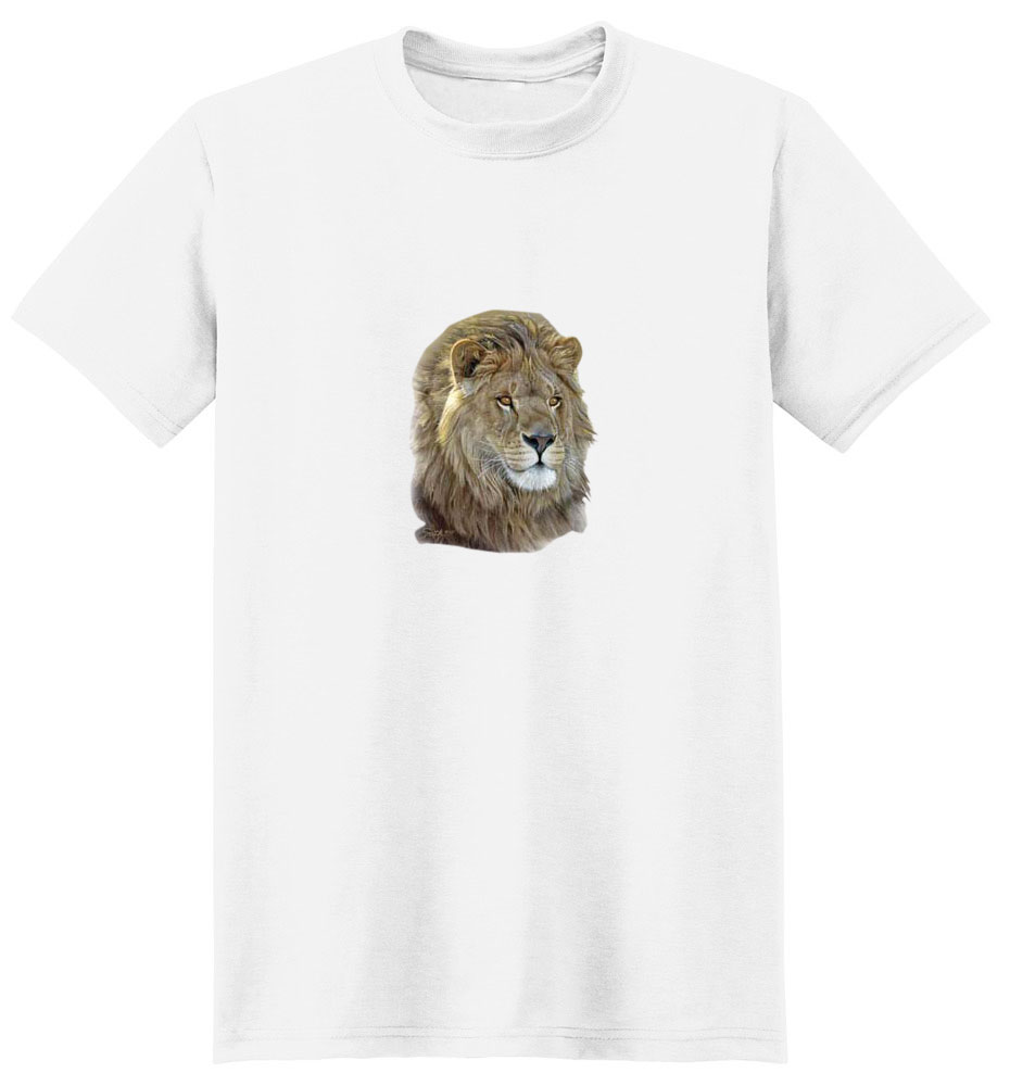 Lion T-Shirt - Vividly Portrayed