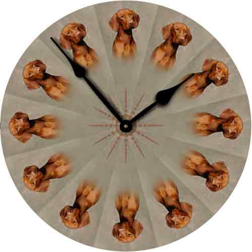 Vizsla Wall Clock