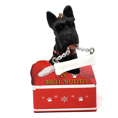 My Best Buddy Scottish TerrierChristmas Ornament