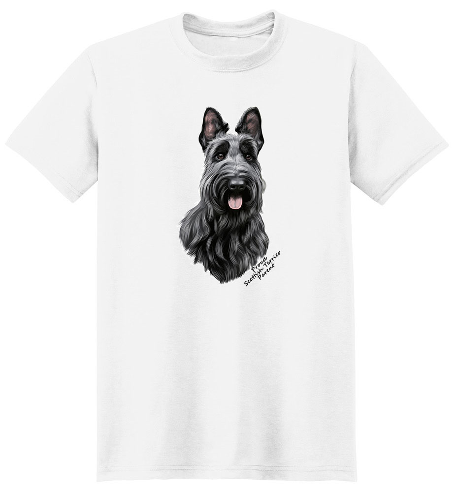 Scottish Terrier T Shirt - Proud Parent