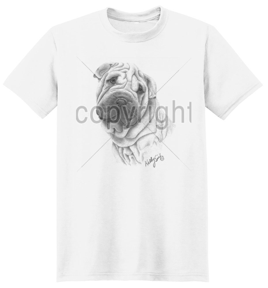 Shar Pei T Shirt by Kelly Six