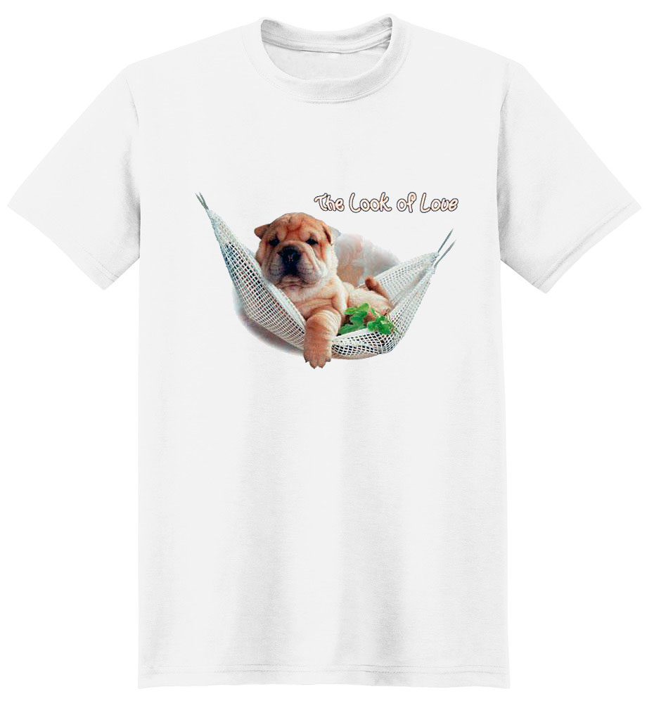 Shar Pei T Shirt The Look Of Love