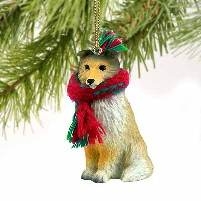 Shetland Sheepdog Tiny One Christmas Ornament Sable
