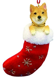 Shiba Inu Christmas Stocking Ornament
